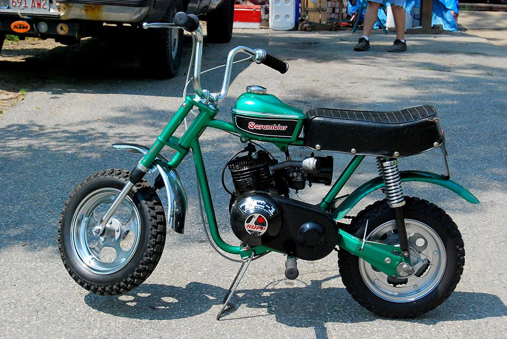 Vintage rupp mini bike